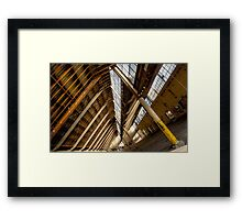 dutching Framed Print