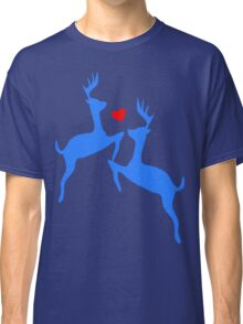 ۞»♥Adorable Jumping Deer Couple Clothing & Stickers♥«۞ Classic T-Shirt