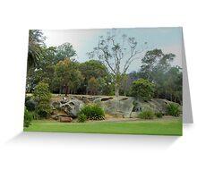 Royal Botanic Gardens Sydney Greeting Card