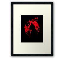 The Darth Star Framed Print