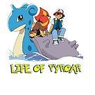 Life Of Pyroar by StonerMunkee