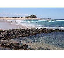 Nobbys Beach Photographic Print