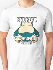 snorlax my spirit animal T-Shirt