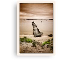 Jetty 01 Canvas Print