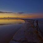 ocean pool sunrise by Len  Gunther