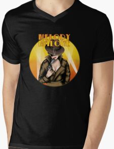 Melody Malone Mens V-Neck T-Shirt