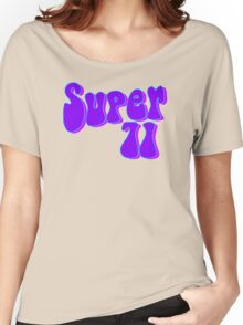 Super 71 - Purple Women's Relaxed Fit T-Shirt