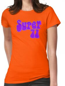 Super 71 - Purple Womens Fitted T-Shirt