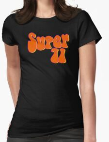Super 71 - Orange Womens Fitted T-Shirt