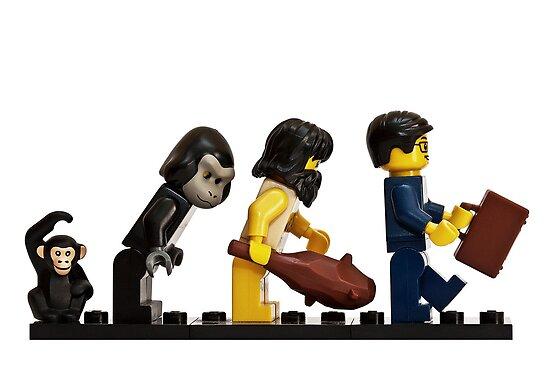 The Evolution of Bricks by SteveJOM