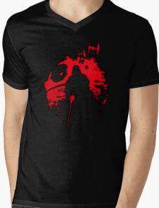 The Darth Star Mens V-Neck T-Shirt