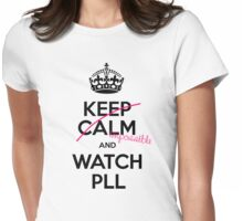 Keep Calm and Pretty little liars Womens Fitted T-Shirt