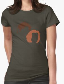 Skeptic and Believer Womens Fitted T-Shirt