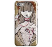 Paper String  iPhone Case/Skin