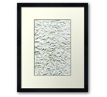 Paper Abstract # 109 Framed Print