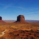 Monument Valley impression, Arizona by Claudio Del Luongo