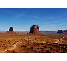 Monument Valley impression, Arizona Photographic Print