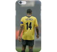 Thierry Henry - Arsenal Hero iPhone Case/Skin