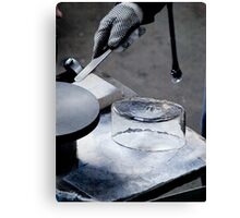 Glass Blowing - Separation VRS2 Canvas Print