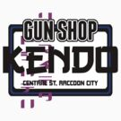 Kendo Gun Shop, Raccoon City - Resident Evil Tee by LittleDoll