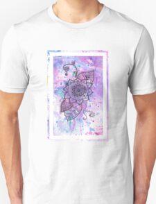Purple Mandala Flower T-Shirt