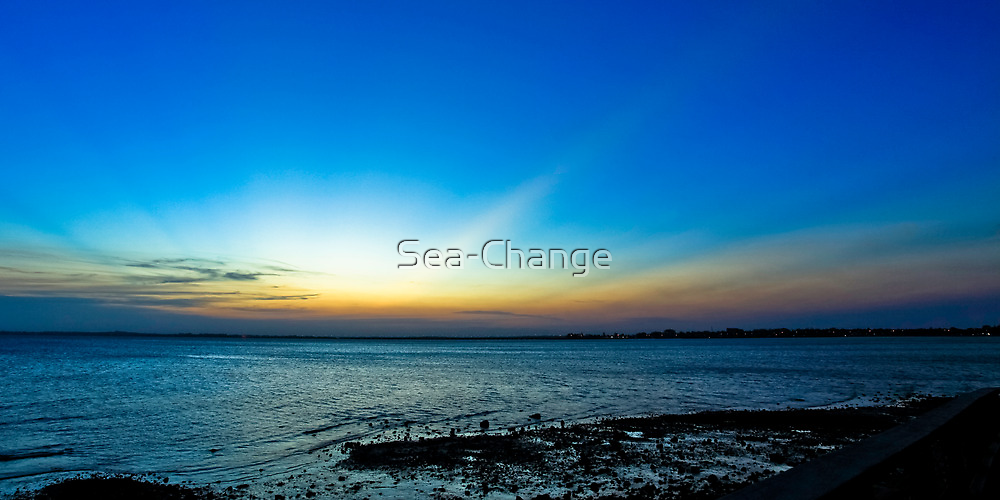 Rays at Sunset by Sea-Change
