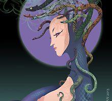 Snake lady by jatujeep