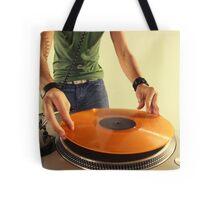cool urban dj close-up  Tote Bag