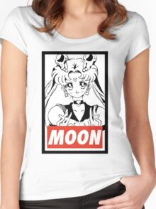 MOON - Sailor Moon Women's Fitted Scoop T-Shirt