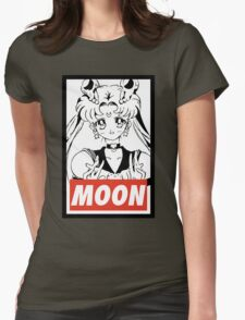 MOON - Sailor Moon Womens Fitted T-Shirt