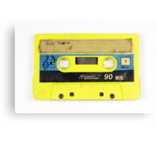 old cassette tape  Canvas Print