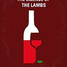 No078 My Silence of the lamb minimal movie poster by Chungkong