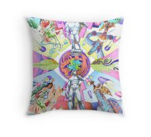 Renaissance Obsession Throw Pillow