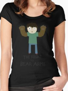 The Right To Bear Arms Women's Fitted Scoop T-Shirt