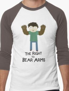 The Right To Bear Arms Men's Baseball ¾ T-Shirt