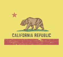 Vintage California Flag Kids Clothes