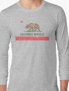 Vintage California Flag Long Sleeve T-Shirt