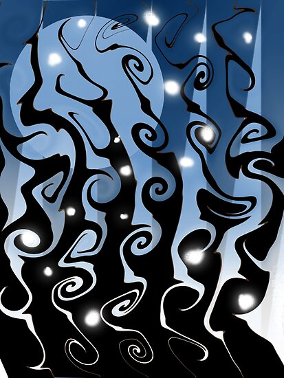 Moonlit Curlz by ScaleDesigns