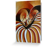Touched By Africa I Greeting Card
