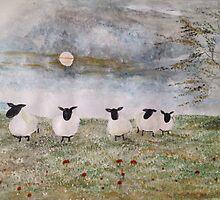Sssssh !  It's sheep by Saffiere Baker
