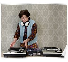 granny DJ! Poster
