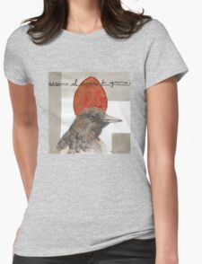 Red Red Egg Womens Fitted T-Shirt
