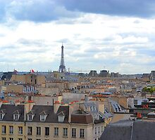 Paris from the Pompidou Centre by Imagery