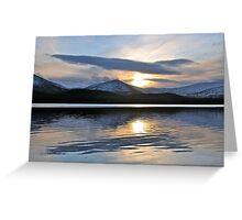 Loch Morlich, Cairngorms, Scotland. Greeting Card