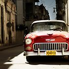 car in havana by dubassy