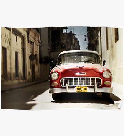 car in havana Poster