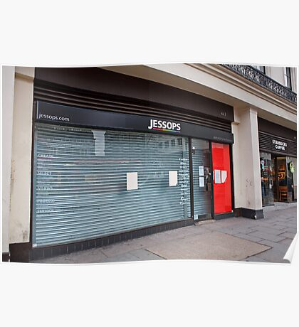Jessops store now closed down in the Strand London Poster