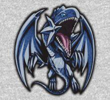 Blue-Eyes White Dragon Icon - Yugioh! Kids Clothes