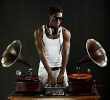hunky gramophone dj by dubassy