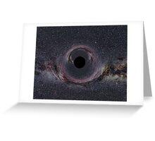 Blackhole 2 Greeting Card